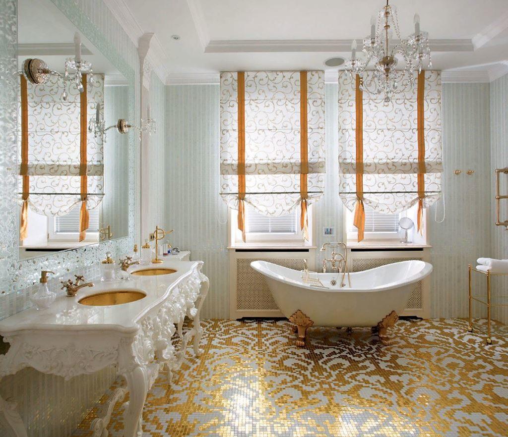 Ванная комната в стиле барокко