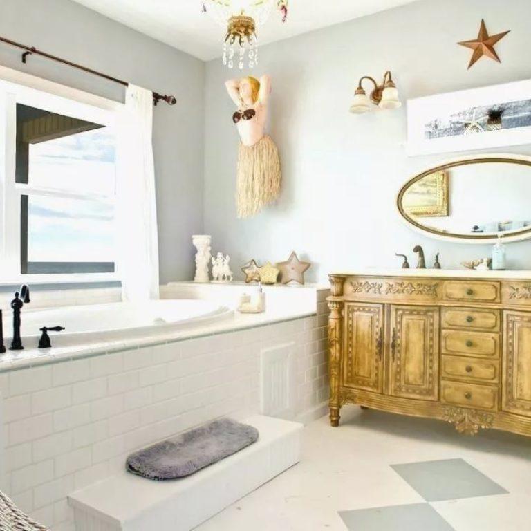 Картинки ванных комнат морской стиль