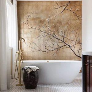 цвет стен ванной