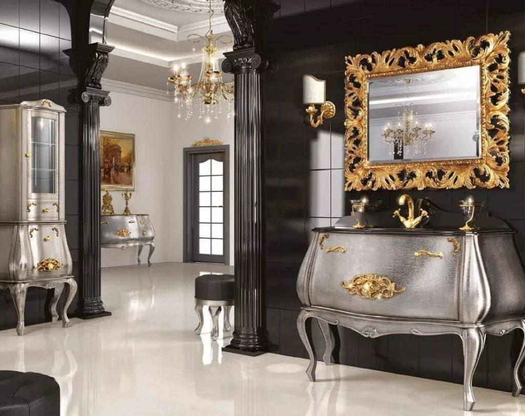 Ванная комната в стиле Арт Деко