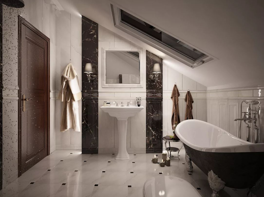 Пол в ванной комнате: материалы и дизайн