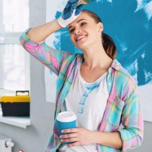 как покрасить плитку для ванной комнаты