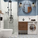 Дизайн маленькой ванной комнаты (с фото)