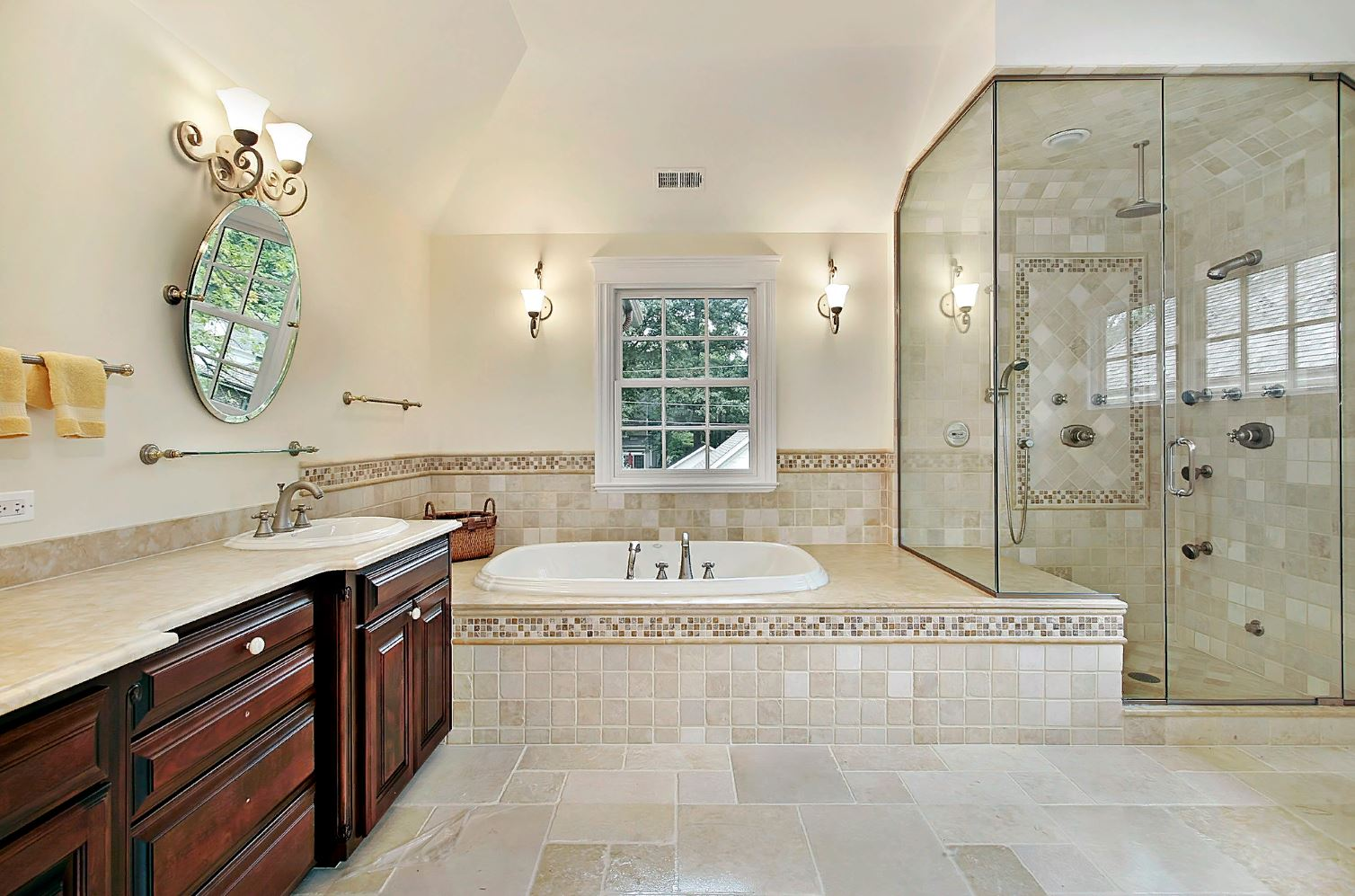 Дизайн ванной комнаты в средиземноморском стиле