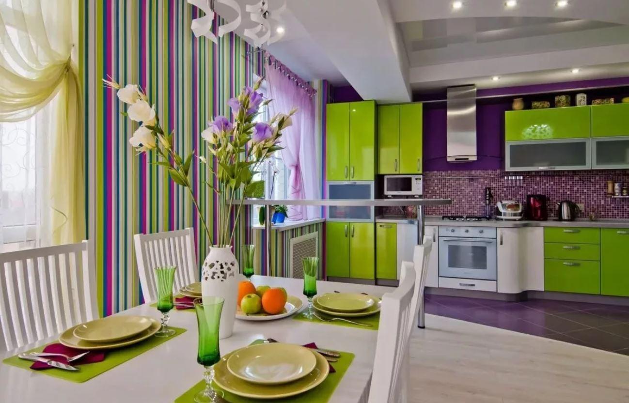 Цвет кухни: какой цвет лучший?
