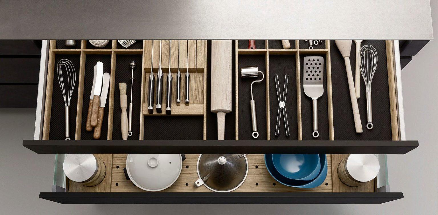 Кухонный ящик: как правильно организовать кухню