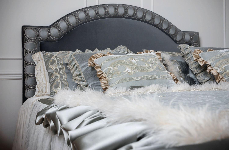 Как сделать роскошный декор в спальне