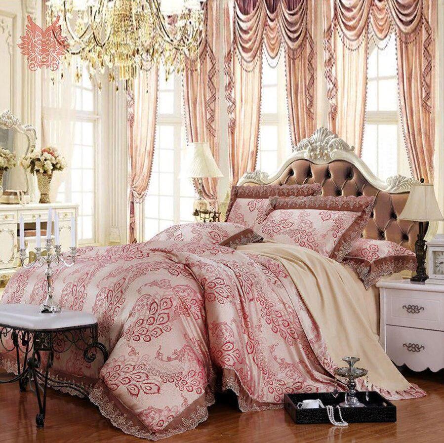роскошный декор в спальне