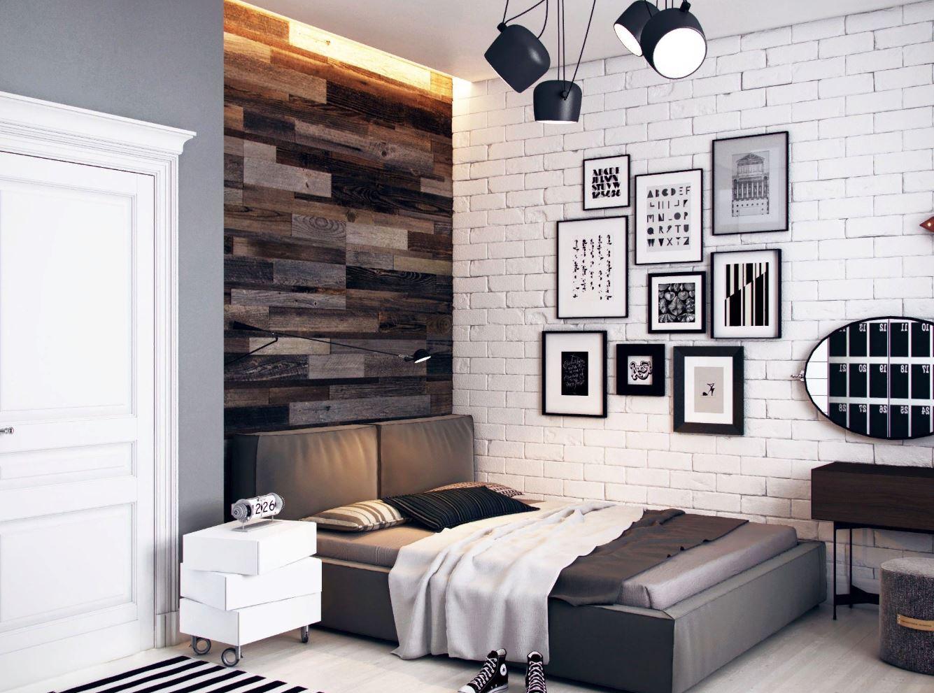 Современная комната для подростка: дизайн и отделка