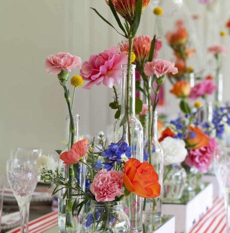 Оригинальные идеи для цветочного декора
