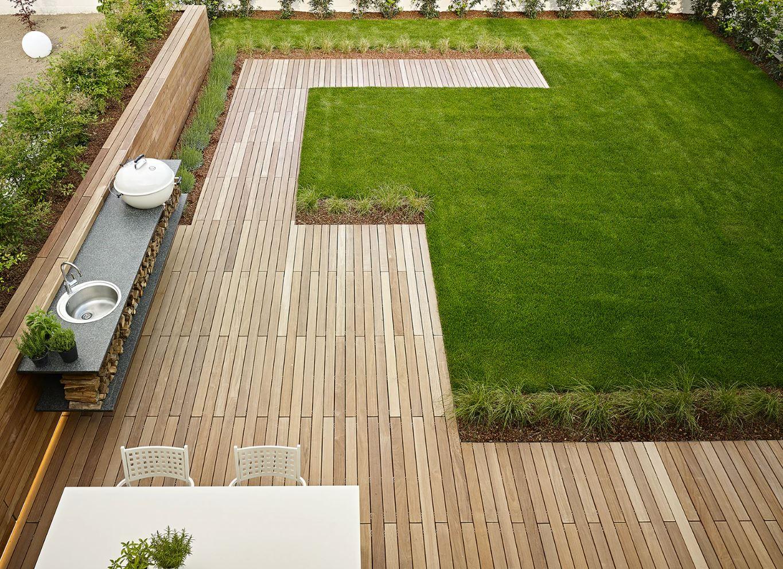 Сад в стиле минимализм: ландшафтный дизайн