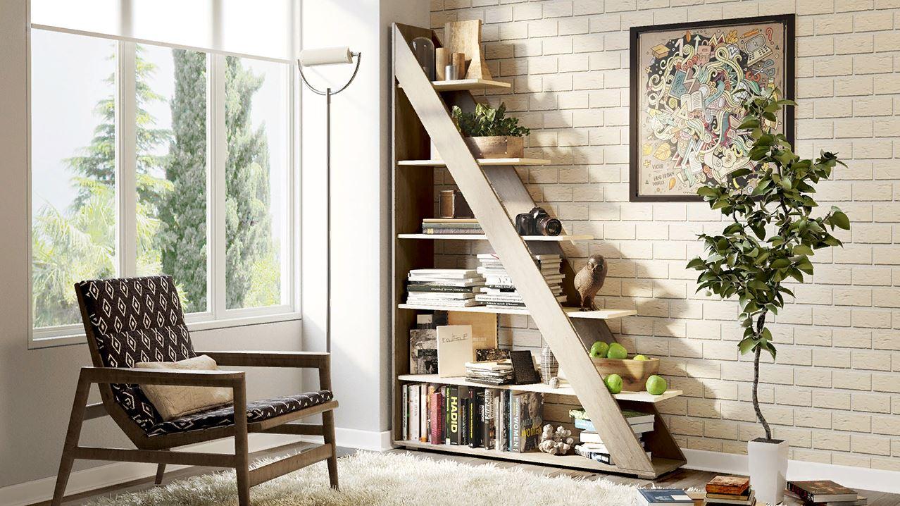 Декоративная лестница для хранения