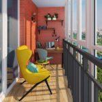 Дизайн балкона и лоджии: Топ-100 фото новинок