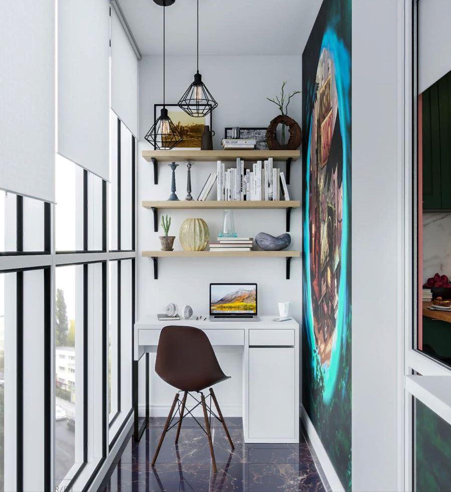 Дизайн балкона и лоджии: Топ-50 фото новинок