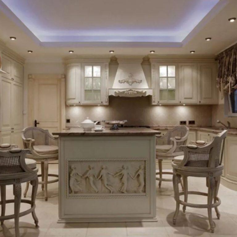 Кухня в классическом стиле: дизайн и отделка