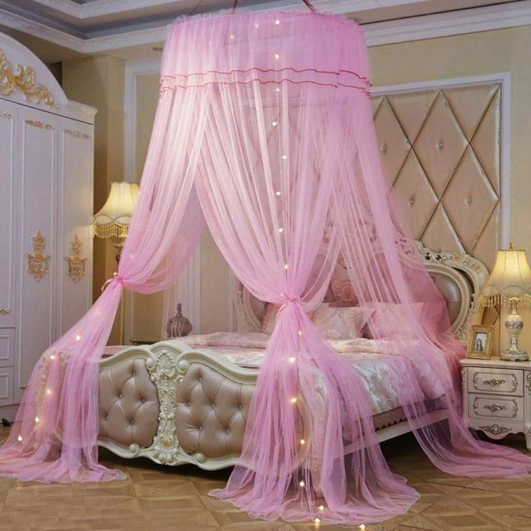 Романтический дизайн спальни