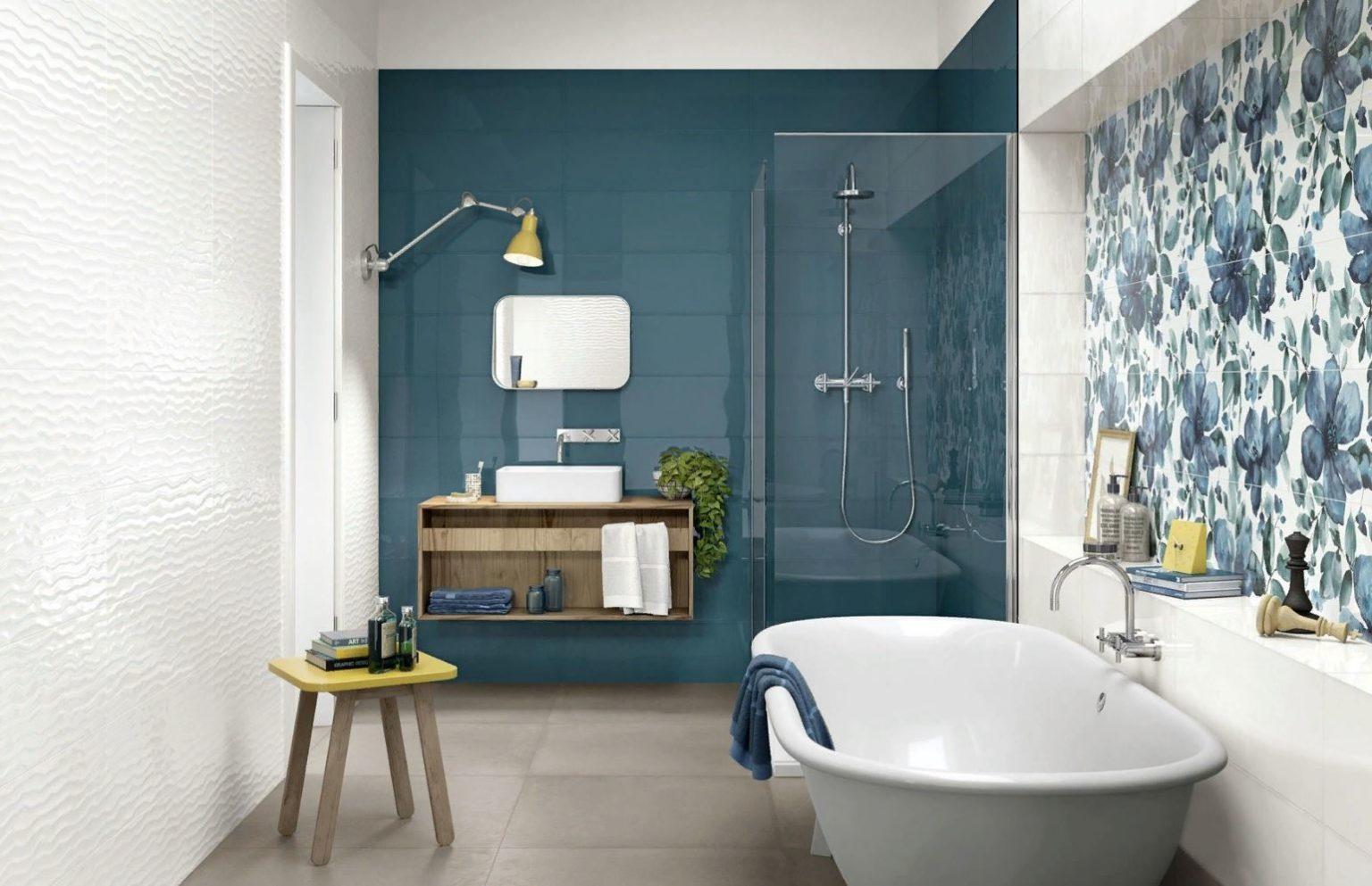Серая напольная плитка: какие цвета выбрать для стен