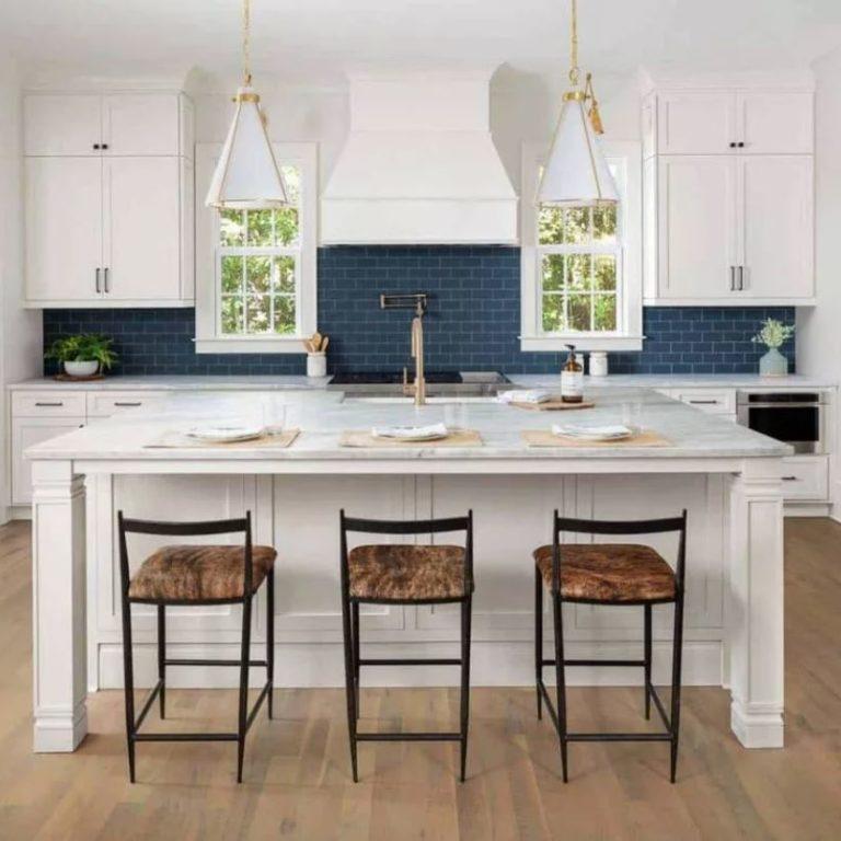 Кухонный остров: цвета, формы, материалы