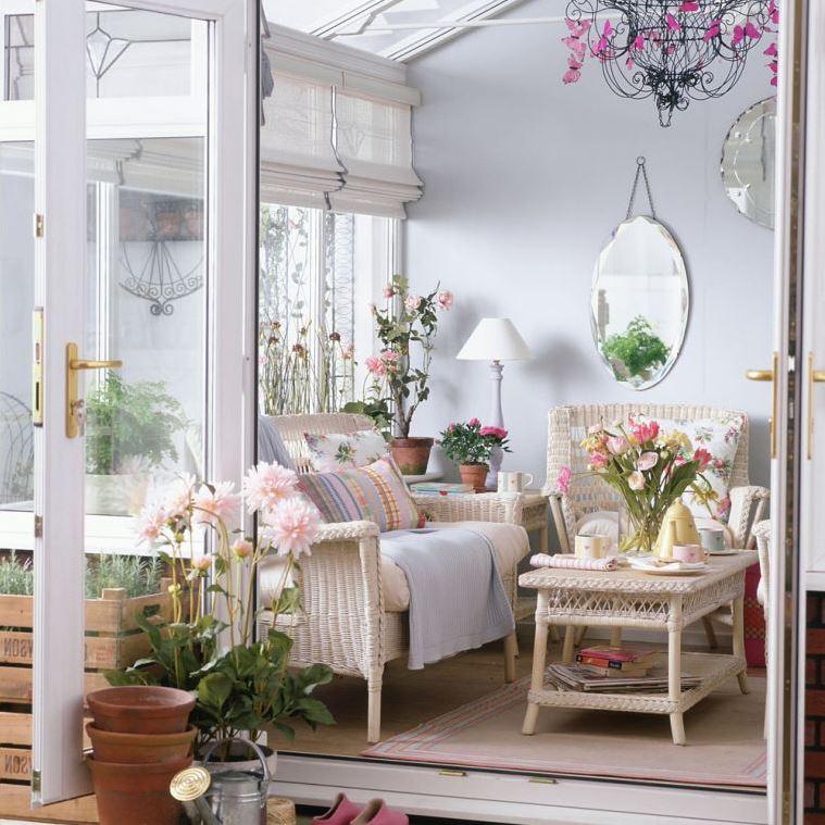 Интерьер шебби шик: советы по украшению гостиной