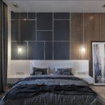 Серая спальня: 50 модных и вдохновляющих идей