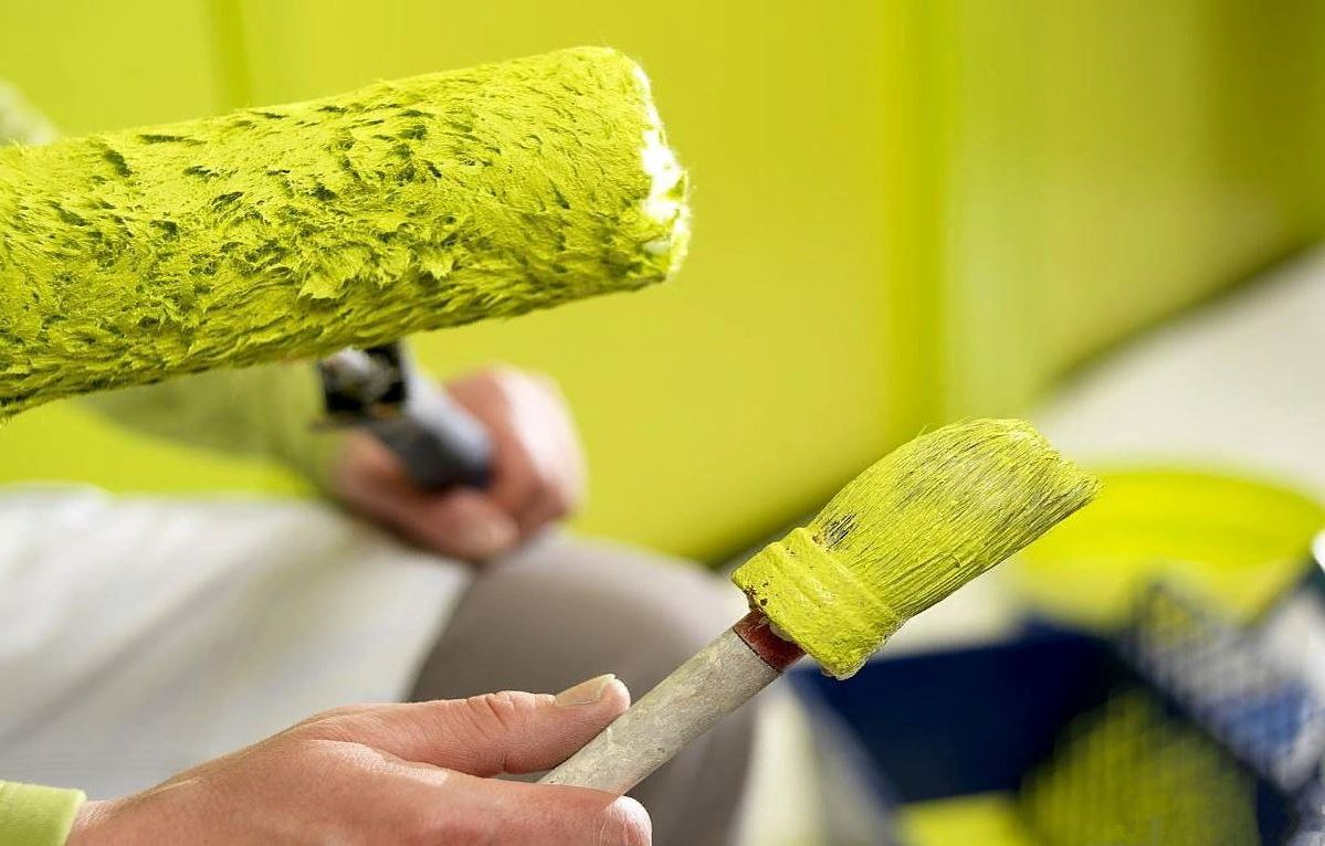 Как быстро избавиться от запаха краски