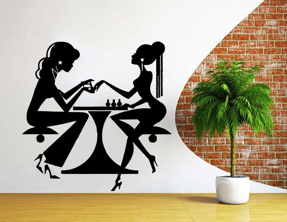 Трафареты для декора стен и мебели