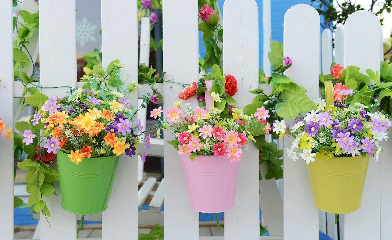Цветочные горшки и вазоны: дизайн, виды, материалы и цвета