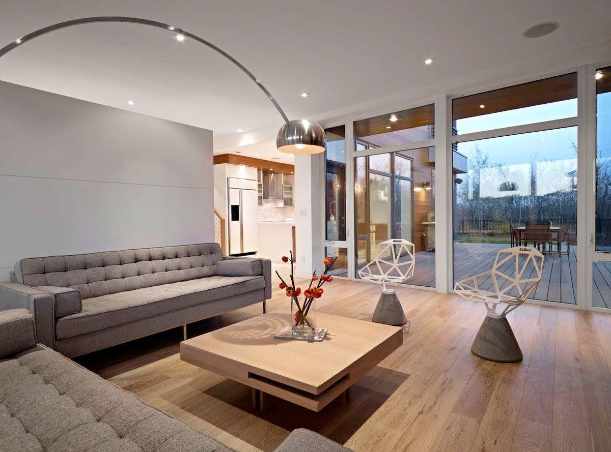Освещение современной гостиной