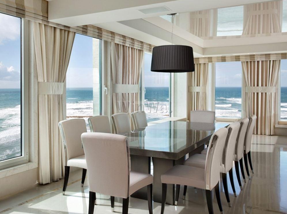 Как выбрать шторы для панорамных окон