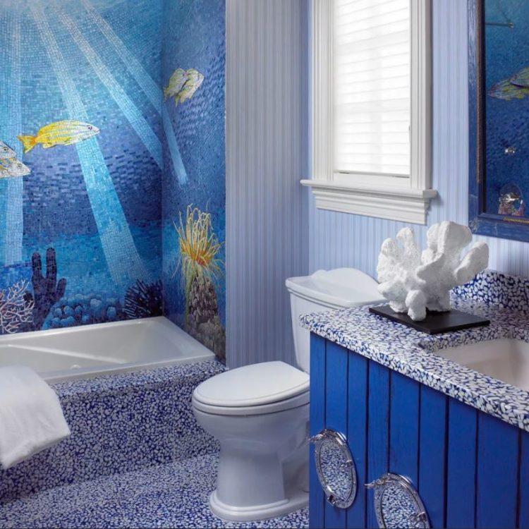 Что следует учитывать при выборе плитки для ванной комнаты