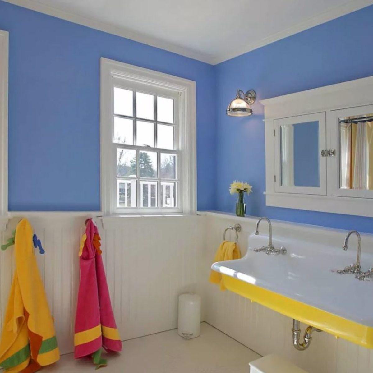 цвет стен в ванной 2