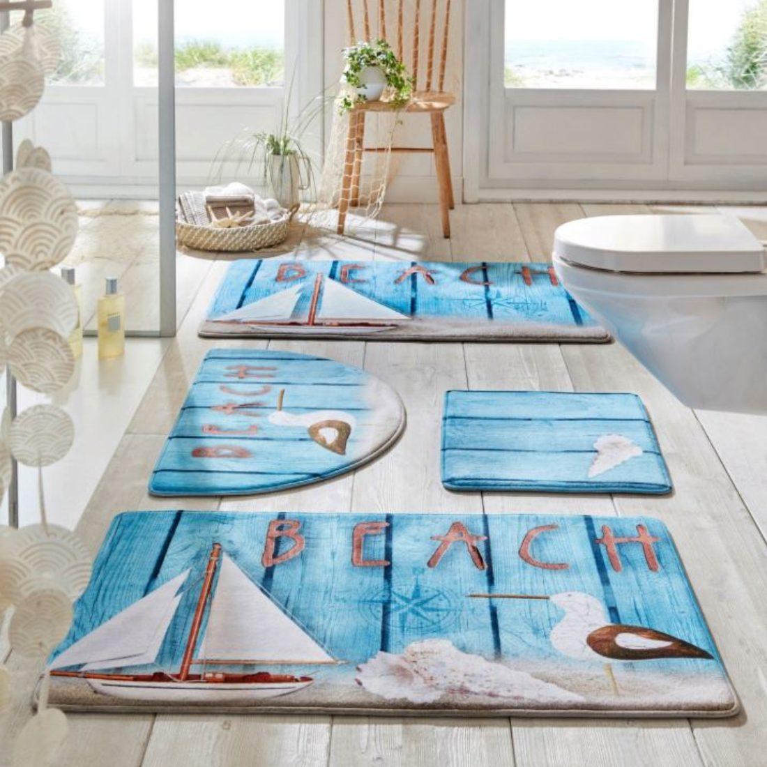 как выбрать коврик для ванной комнаты